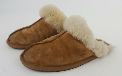 bc2fcb3c785 NEW UGG WOMEN'S Scuffette Ii Chestnut Suede Slippers Model 5661 Size ...