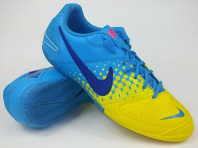c02a5001a Nike Mens Rare Nike5 Elastico 415131 447 Yellow Blue Indoor Shoes Size 10.5