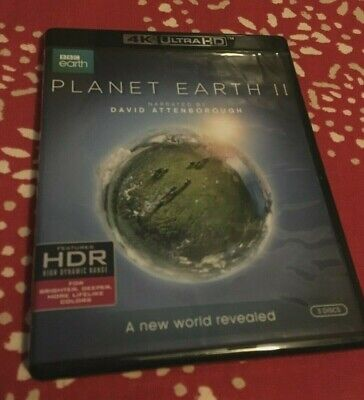 Planet Earth II (4K Ultra HD Blu-ray, HDR)