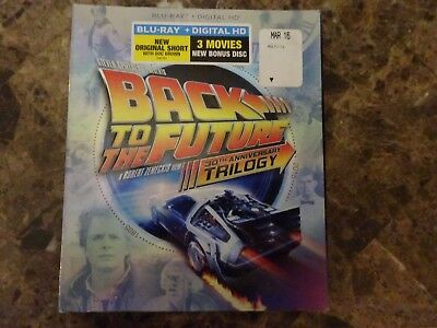 Back to the Future Trilogy (Blu-ray Disc, 2015, 4-Disc Set) NOT A CHEAP BOOTLEG