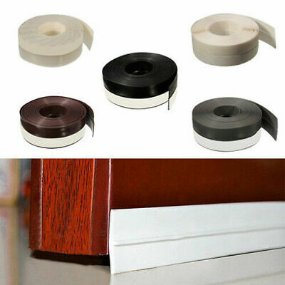 25mm/35mm Self-adhesive Draught Excluder Strip Window Door Seal Weather Tape New