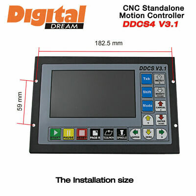 3 Axis Motion Controller Offline CNC 500KHz CNC Standalone Control DDCS V3.1