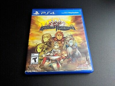 Grand Kingdom Playstation 4 PS4 LN condition COMPLETE-