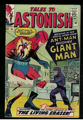 Marvel TALES TO ASTONISH 49 Mid grade GIANT MAN AVENGERS FN 6.0