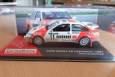 1:43 FORD SIERRA RS COSWORTH TOUR PORTUGAL 1987 sport#11 CARLOS SAINZ COLLECTION