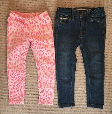 Girls Size 2 Seed and Cotton On Jeans 1 Pair Unworn