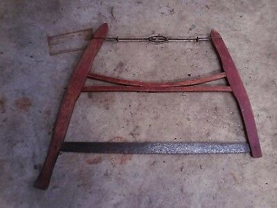 Antique Buck Saw Vintage Old Primitive Rustic Cabin Decor Farm Tool.