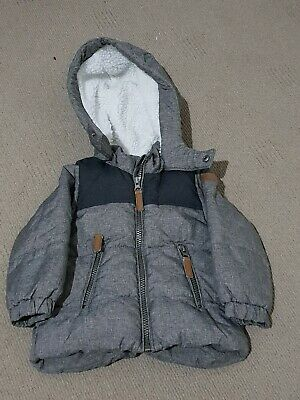 Baby Winter Jacket H&M 9-12months AU Size 1