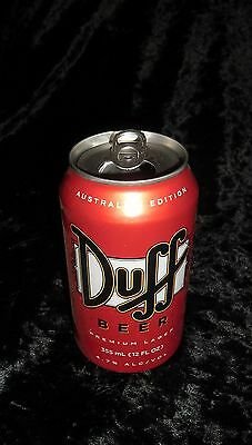 One Can Of Duff Beer Top Opened,collectable,simpsons