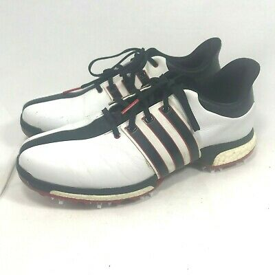 Adidas Tour 360 BOA Boost WhiteCore BlackPower Red