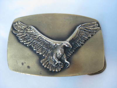 1978 American Eagle Belt Buckle By Great American Buckle Co Chicago USA