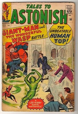 Marvel TALES TO ASTONISH 50 Pym  2nd GIANT MAN AVENGERS MID GRADE VG-