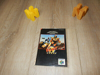 PAL N64: Blast Corps Manual Only NO GAME Nintendo 64