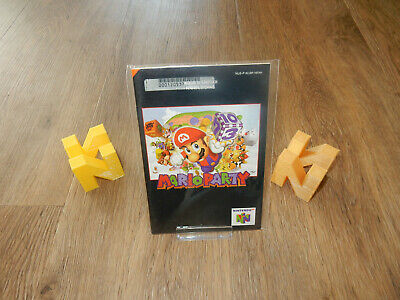 PAL N64: Mario Party 1 Manual Only NO GAME Nintendo 64