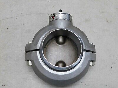 "WORCESTER 4H 6314 BW 250F 150 PSI 4"" BUTTERFLY VALVE ~ No Handle ~ NOS"