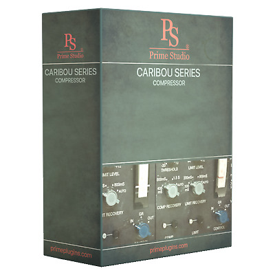 New PrimeStudio Caribou Compressor PlugIn AAX native/AU/VST MAC/PC eDelivery