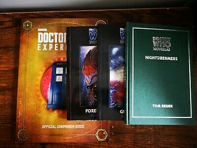 3 Dr  Who Novellas + Doctor Who Experience, Official Companion Guide