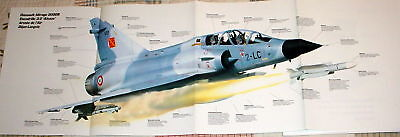 WOW! FRENCH DASSAULT MIRAGE 2000B POSTER picture print jet fighter 2000 bfjg