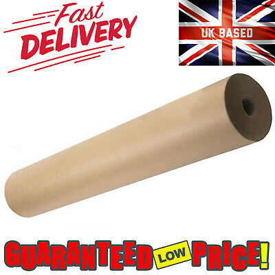 Brown Kraft Parcel Paper For Packing And Wrapping Parcels Strong Rolls 88Gsm