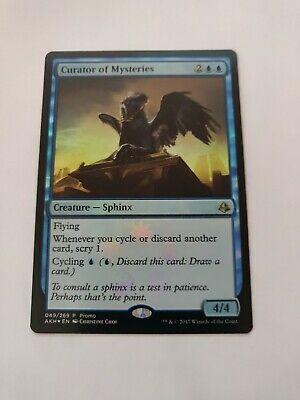 4x Magic the Gathering Amonkhet Curator of Mysteries FOIL