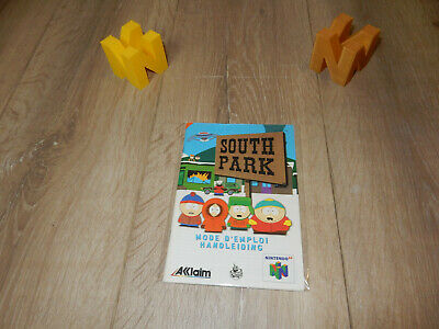 PAL N64: South Park Manual Only NO GAME Nintendo 64