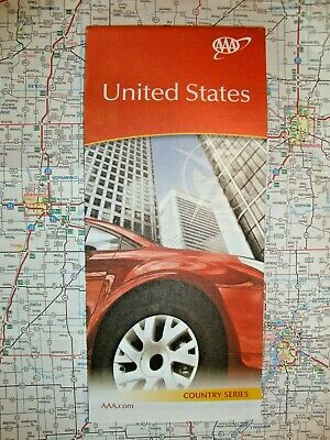 AAA NEW UNITED STATES USA US MAP Travel Road Map Vacation 2018-2019 FREE SHIP