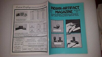 INDIAN ARTIFACT MAGAZINE - VOL 15 #2 Apr-May-June 1996 - SCARCE EARLY ISSUE
