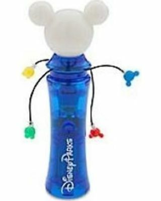 Authentic DISNEY Parks MICKEY MOUSE Light Up Wand Glow Spinner ~ NWT