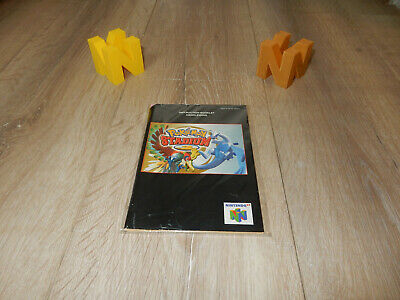PAL N64: Pokemon Stadium 2 Manual Only NO GAME Nintendo 64