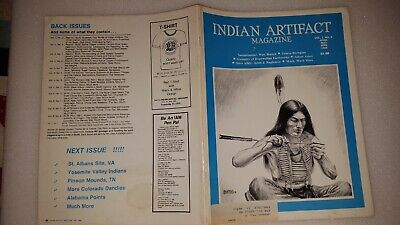 INDIAN ARTIFACT MAGAZINE - VOL 7 #2 Apr-May-June 1988 - SCARCE EARLY ISSUE