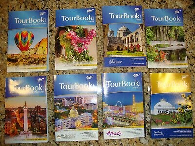 AAA NEW YORK TourBook Travel Guide Book VACATION 2019 FREE SHIPPING!