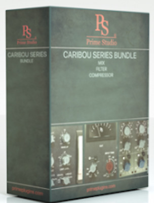New PrimeStudio Caribou Series PlugIn Bundle AAX native/AU/VST MAC/PC eDelivery
