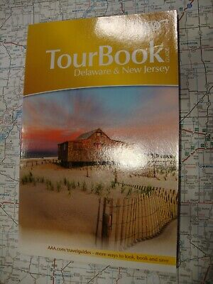 AAA DELAWARE / NEW JERSEY TourBook Travel Guide Book 2019 FREE SHIP!