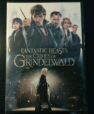 Fantastic Beasts: The Crimes of Grindelwald (DVD, 2019) BRAND NEW FREE SHIPPING!