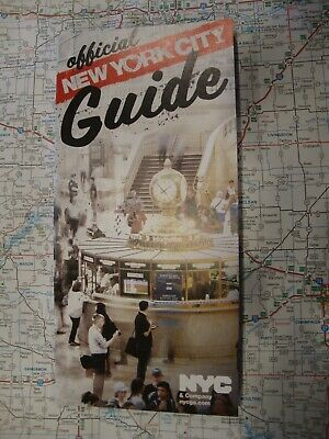 AAA NEW YORK CITY OFFICIAL VISITORS GUIDE Travel Guide Book 2019 FREE SHIPPING!