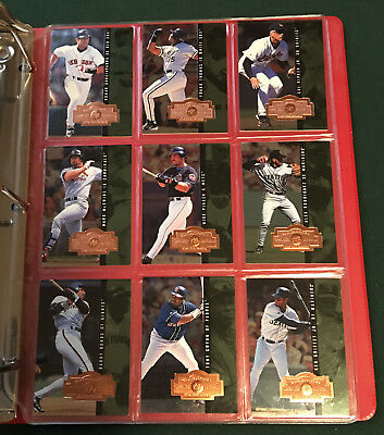 1998 Spx Finite Baseball Complete Set! All 360 Cards! Mint Condition. In Binder