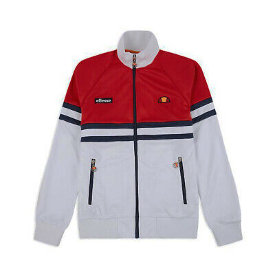 f1cd305f22 Felpa track top uomo con zip ELLESSE Art.7920140100 WHITE List.85€ P