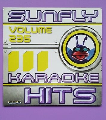 Karaoke Cdgs & Dvds April Hits 2004 Good Sunfly Karaoke Cdg Disc Sf217