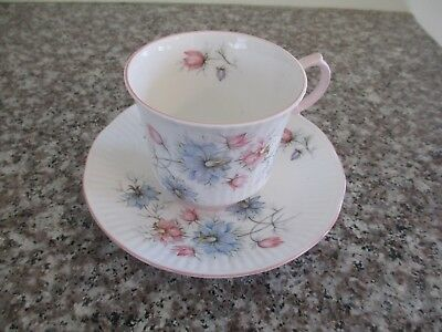 QUEENS Rosina Fine Bone China 1875 - 1975 Centenary Year Tea Cup and Saucer!