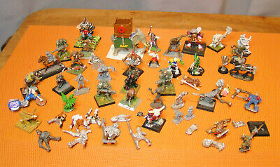lot de 51 FIGURINES GRENADIER WARHAMMER METAL G. W. ral parha