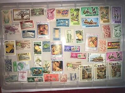 Togo stamps - unchecked collection