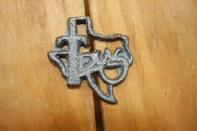 State of Texas Clavos Frame Accents, DIY Texas Crafts, Solid Cast Iron, 2 1/2""