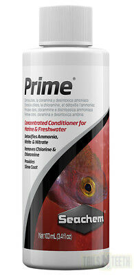 Seachem Prime 100ml Concentrated Conditioner for Freshwater or Marine