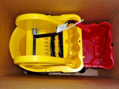 NEW!! Rubbermaid Commercial WaveBrake Down Press Dual Water Combo (7677)-35QT