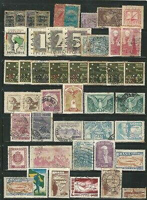 Brazil: Small lot of diff. stamps some repeat condition different, used... BR28
