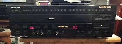 PIONEER CLD-V710 LaserDisc CD CDV LD Player Laser Disc Karaoke NO REMOTE - WORKS
