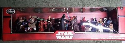 ONLY $74.88 Disney Store Star Wars Mega Figure 20 PC Character Set Action Figure