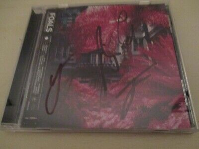Foals Everything Not Saved Will Be Lost Part 1 Signed Cd