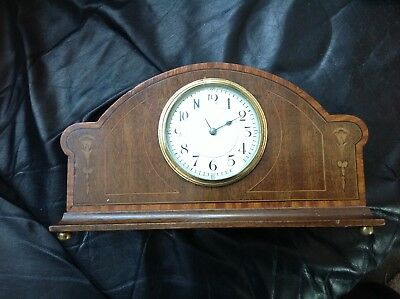 Vintage Rare French Sir John Bennett Ltd London Mantle Clock. No - Key Untested