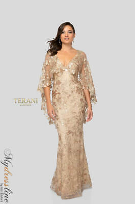 Terani Couture 1913e9232 Evening Dress Lowest Price Guaranteed New Authentic